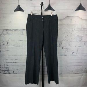 Apt. 9 Dress Pants Grey Trouser Curvy Fit 1008